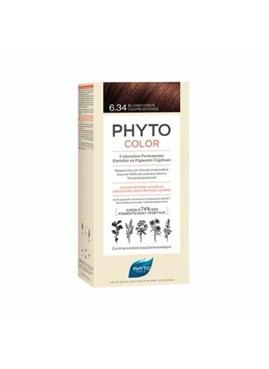 PHYTO Phyto Phytocolor Color 6.34 Koyu Kumral Dore Bakır SaÇ Boyası Renksiz
